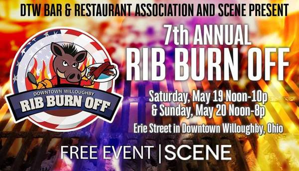 Downtown Willoughby Rib Burn Off Benefiting The Uso Of Northern Ohio